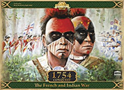 1754 - Conquest: The French and Indian War (quite minor box damage)