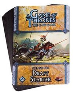 A Game of Thrones LCG: Ice & Fire Draft Starter