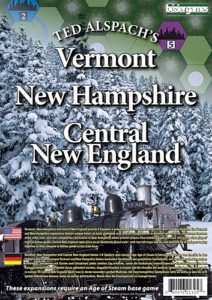 Age of Steam Expansion: Vermont, New Hampshire