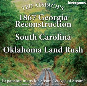 Age of Steam Expansion: 1867 Georgia