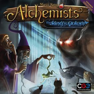 Alchemists: the King's Golem (minor box damage)