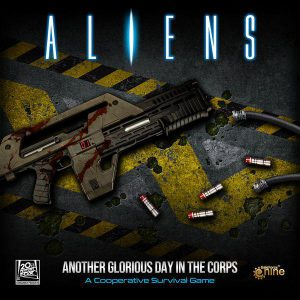 Aliens: Another Glorious Day in the Corps! (minor box damage)