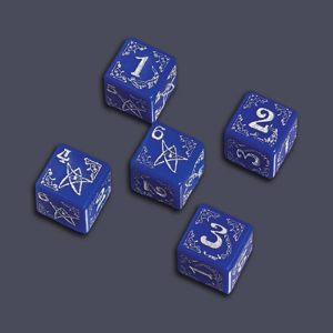 Arkham Horror Dice Set - Blessed