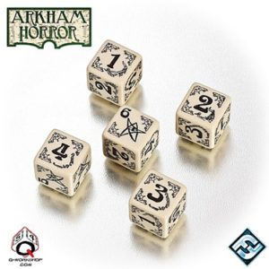 Arkham Horror Dice Set - BONE