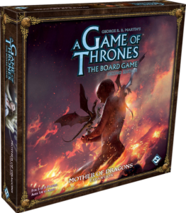 A Game of Thrones: The Board Game (Second Edition) – Mother of Dragons (damaged box bottom - contents fine)