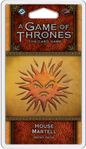 A Game of Thrones: The Card Game (Second Edition) – House Martell Intro Deck