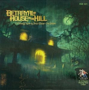 Betrayal at House on the Hill (minor box bruise)