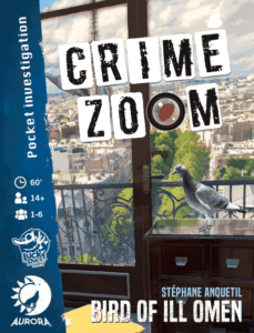 Crime Zoom: A Bird of Ill Omen
