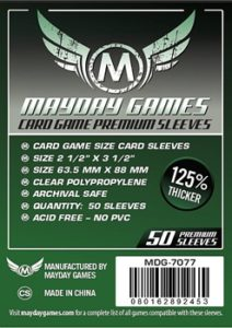 Card Game Sleeves Premium GREEN LABEL