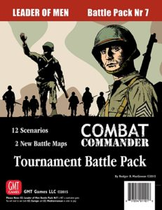 Combat Commander: Battle Pack #7 – Leader of Men: Tournament Battle Pack