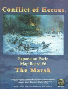 Conflict of Heroes Expansion: Map #6 - The Marsh