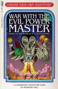 Choose Your Own Adventure: War with the Evil Power Master - PREORDER (Order by itself ONLY - see FAQ)