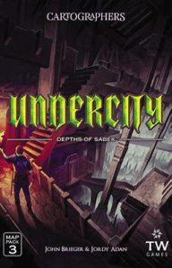 Cartographers Map Pack 3: Undercity – Depths of Sabek