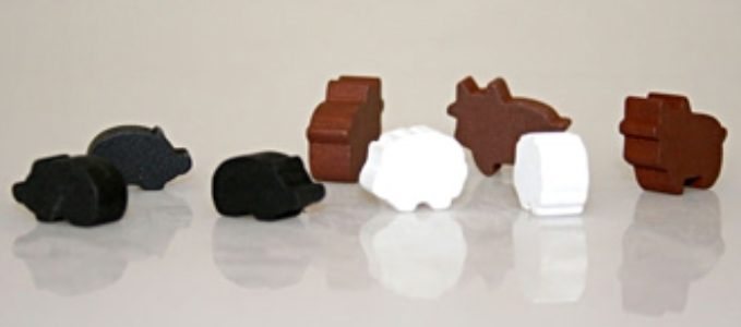 Deluxe Wooden Farm Animal Set - Animeeples