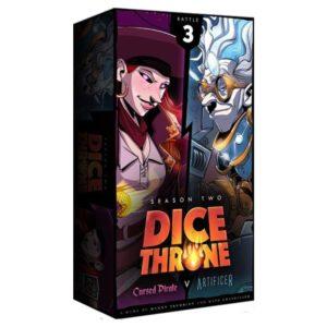Dice Throne: Artificer vs. Cursed Pirate