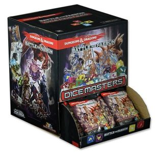 Dungeons & Dragons Dice Masters Battle for Faerun: 90 ct Gravity Feed Display
