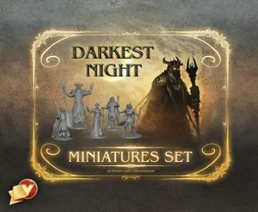 Darkest Night Second Edition minis