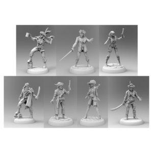 Dead Men Tell No Tales Miniatures Pack