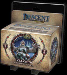 Descent: Journeys in the Dark (Second Edition) - Bol'Goreth Lieutenant Pack