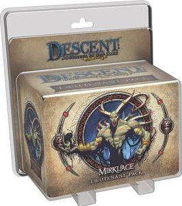 Descent: Journeys in the Dark (Second Edition); Gargan Mirklace Lieutenant Pack