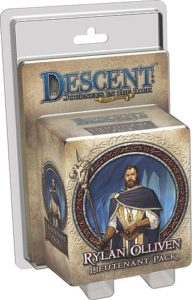 Descent: Journeys in the Dark (Second Edition); Rylan Olliven Lieutenant Pack