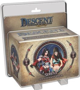 Descent: Journeys in the Dark (Second Edition) - Serena Lieutenant Pack