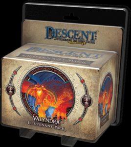 Descent: Journeys in the Dark (Second Edition) - Valyndra Lieutenant Pack