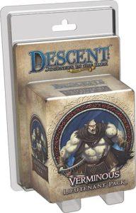 Descent: Journeys in the Dark (Second Edition); Verminous Lieutenant Pack