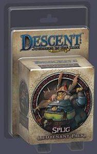 Descent: Journeys in the Dark (Second Edition) - Splig, Lieutenant