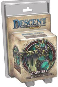 Descent: Journeys in the Dark (Second Edition) – Zarihell Lieutenant Pack
