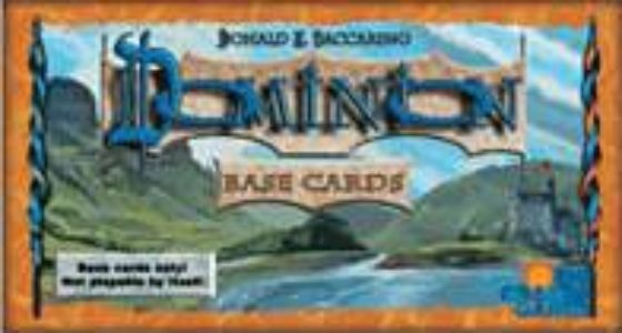 Dominion Base Cards (1st Edition)