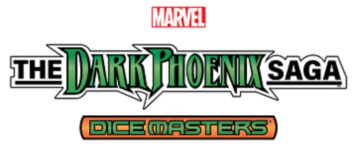 Marvel Dice Masters: The Dark Pheonix Saga Countertop Display