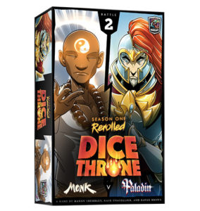 Dice Throne: Season One Rerolled: Monk vs. Paladin