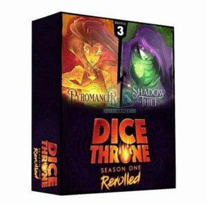 Dice Throne: Season One ReRolled – Pyromancer vs. Shadow Thief