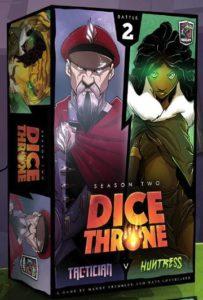 Dice Throne: Tactician vs. Huntress