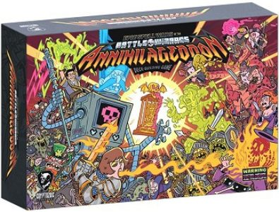 Epic Spell Wars of the Battle Wizards: ANNIHILAGEDDON! – The Deck-Building Game