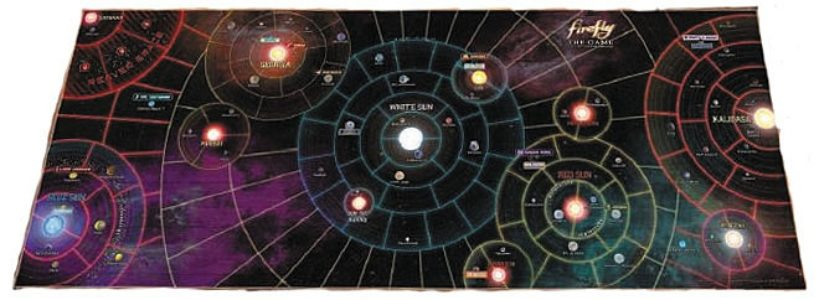 "Firefly: The Game - The Whole Damn 'Verse Vinyl Game Mat 50"" x 20"""