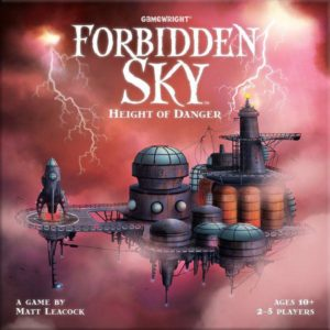 Forbidden Sky (very slight box damage)