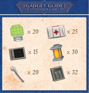Gadget Guide Token Set