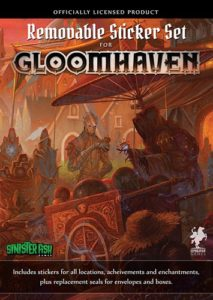 Gloomhaven: Removable Sticker Set BASE GAME
