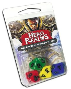 Hero Realms Dice (4)