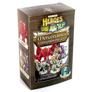 Heroes of Land, Air & Sea: Mercenaries Expansion Pack #2