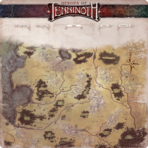 Heroes of Terrinoth Game Mat