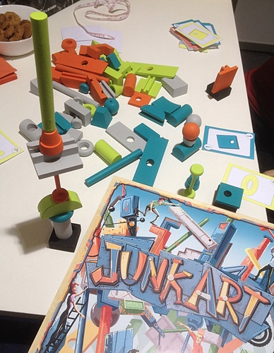 Junk Art Great Boardgames