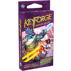 KeyForge: Worlds Collide Archon Deck - PREORDER (ORDER BY ITSELF ONLY - SEE FAQ)