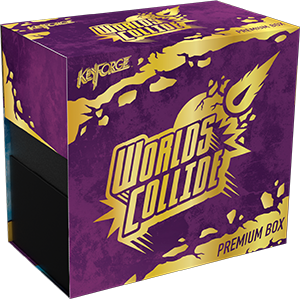 KeyForge: Worlds Collide Premium Box - PREORDER (ORDER BY ITSELF ONLY - SEE FAQ)