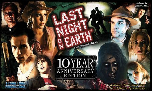 Last Night on Earth, The Zombie Game: 10th Anniversary Edition