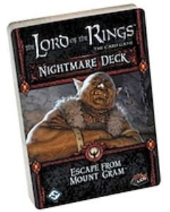 The Lord of the Rings: The Card Game – Nightmare Decks: Escape from Mount Gram