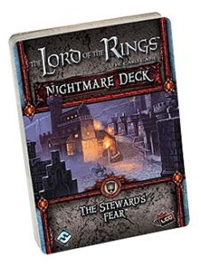 The Lord of the Rings: The Card Game – Nightmare Decks: The Steward's Fear