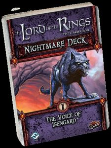 The Lord of the Rings: The Card Game – Nightmare Deck: The Voice of Isengard